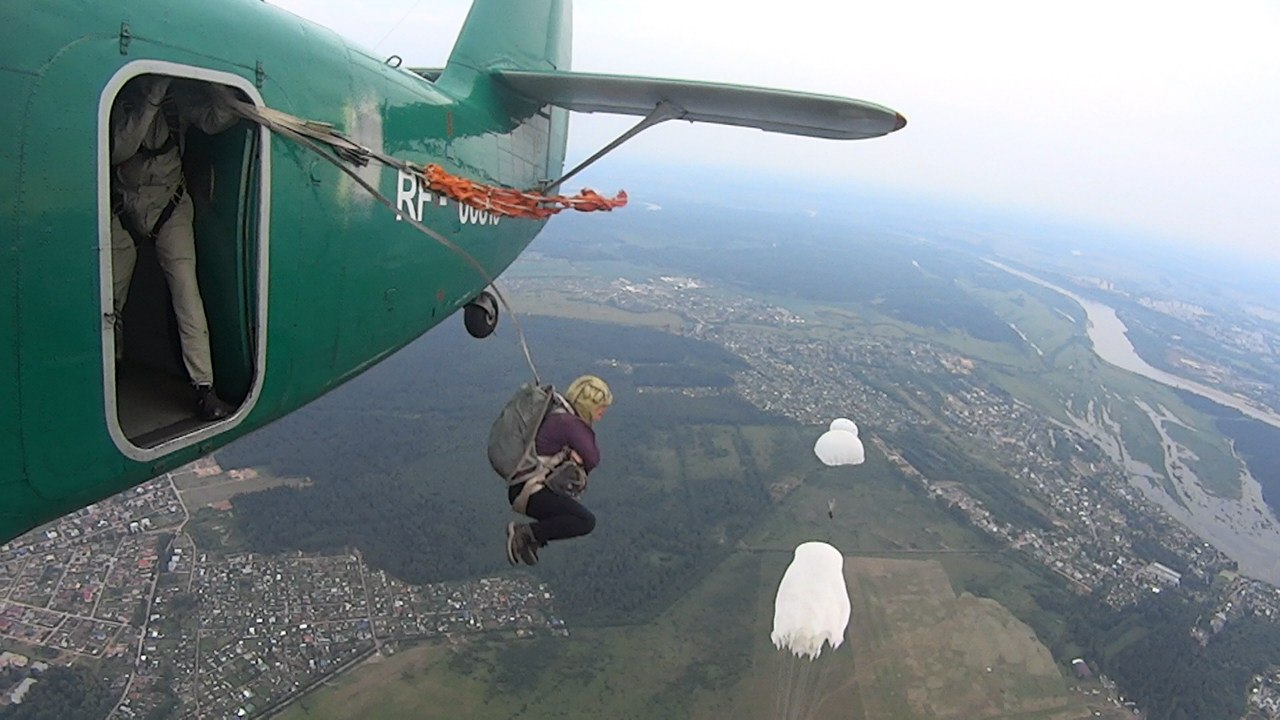Картинка прыжок с самолета